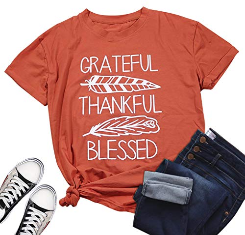 Grateful Thankful and Blessed Shirt
