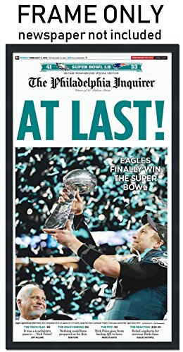 The Philadelphia Inquirer - Philadelphia Eagles Newspaper Frame