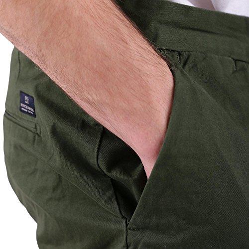 In Hombre Cortos Cotton Scotch Chino Stretch Twill Para Caqui Soda Pantalones Quality Classic amp; Short xPwCwOXBq