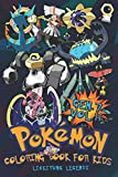 Pokémon Coloring Book For Kids