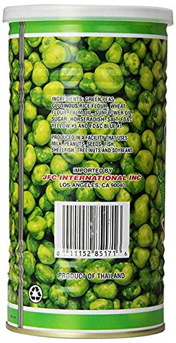 Hapi Snacks Wasabi Peas, Hot, 9.9 Oz (Pack Of 8) by HAPI (Image #1)
