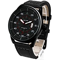 Dictac Wristwatch Men Casual Analog Sport Watch with Date Window and Luminous Hands