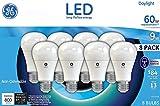 GE 60W 60 Watt Replacement Daylight LED 8 Pack