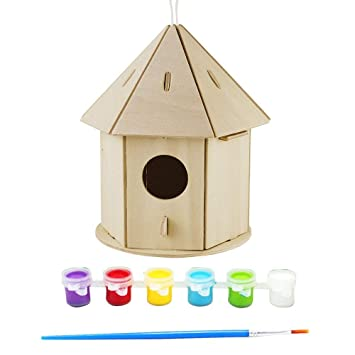 Mascotas Escala 1:12 Nido de Pájaro x 2 Casa De Muñecas Miniaturas Jardín animales