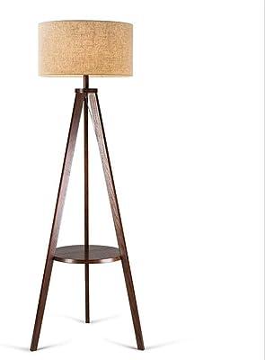 Rivet Zoey Mid Century Tripod Storage Floor Lamp 58 Quot H