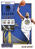 2018-19 NBA Contenders Season Ticket #8 Kevin Durant Golden State Warriors Official Basketball Card made by Panini