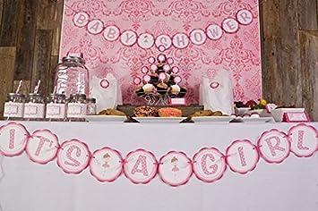 Ballerina U0026quot;Itu0027s A Girlu0026quot; Baby Shower Banner ...