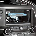 C7 Corvette Stingray/Z06/Grand Sport 2014+ Dash Storage Accessory Shelf - Black Powder Coated Aluminum