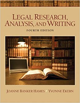 Book Legal Research, Analysis, and Writing Plus NEW MyLegalStudiesLab Virtual Law Office Experience with Pearson eText -- Access Card Package (4th Edition)