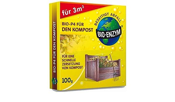 Bio de P4 para el compost compostador rápido acelerador. Sin Química - para 3 M³: Amazon.es: Jardín