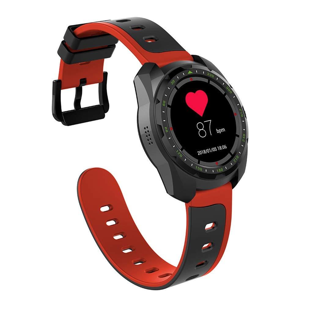 WELCOMEUNI Fitness Watch Activity Heart Rate Blood Pressure Sleep Monitoring Smart Watch Pedometer Tracker