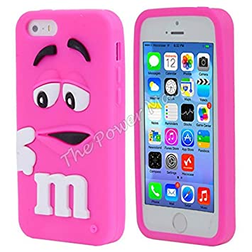 coque silicone iphone 5 rose