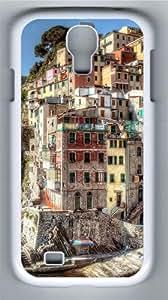 Hdr Riomaggiore Italy Custom Samsung Galaxy I9500/Samsung Galaxy S4 Case Cover Polycarbonate White
