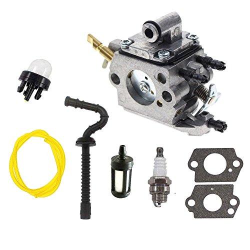 HQ parts Carburetor For Stihl MS192 MS192T MS192TC Chainsaw Zama C1Q-S258 Carb & Fuel Line & Fuel Filter Kit