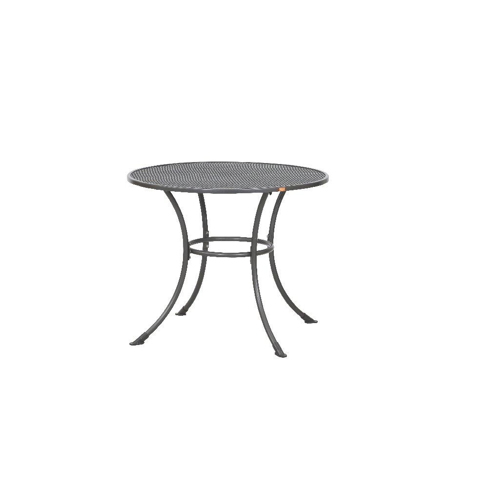 siena garden 680190 streckmetalltisch eisengrau 90 x h 72 cm mit schirmlochoptik jetzt bestellen. Black Bedroom Furniture Sets. Home Design Ideas
