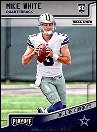 0c7e72fc293 2018 Panini Playoff Goal Line #239 Mike White Rookie NM-MT Dallas Cowboys  Official