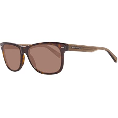 a2b361d92 Image Unavailable. Image not available for. Color: Ermenegildo Zegna EZ0028  - 52J Sunglasses dark havana ...