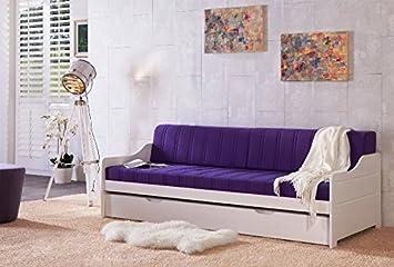 Sofabett Tagesbett Miriam Kiefer Massiv Weiß 90x200cm Neu Amazonde