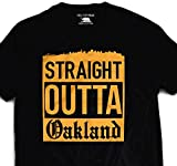 Outta Oakland Splash City T Shirt Gold Golden State of Mind The Bay