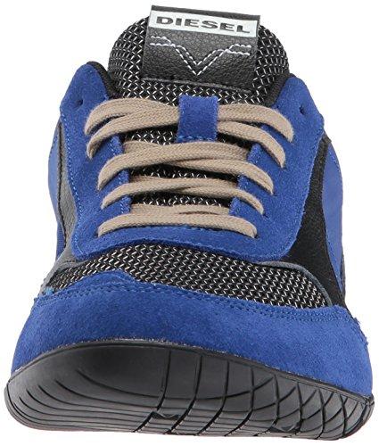 Diesel Uomo Artiglio Azione S-toclaws Sneaker Nero / Surf Blu
