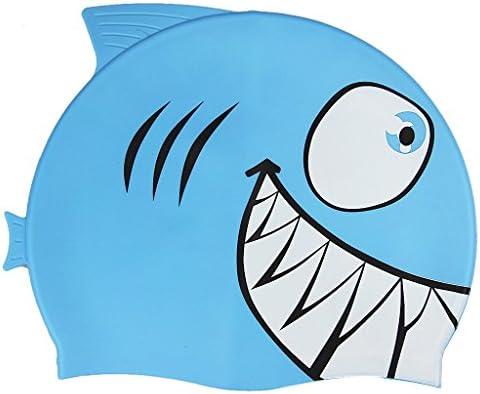 スイミングキャップ 子供用 シリコンキャップ スイムキャップ 可愛い サメ イルカ柄 おしゃれ 防水 キッズ 水泳帽 海水帽 プール 女の子 男の子 海水浴 海 温泉 ダイビング 水泳用品 柔らかい 滑りにくい 水泳用キャップ ジュニア 学校用