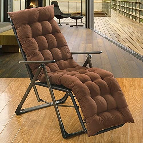 JY Micro Fiber Chair Cushions Rocking Chair Cushions Thick Padded for Lounge Chair Bench Cushion 51 * 19 inch (Espresso)