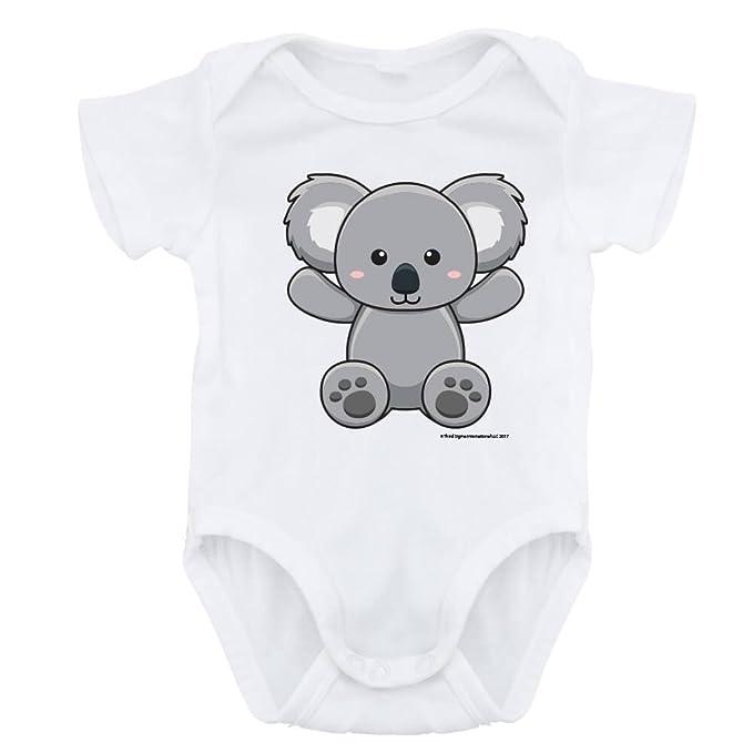 Amazon.com: forbabyz Body de bebé Koala, niño y niña Unisex ...