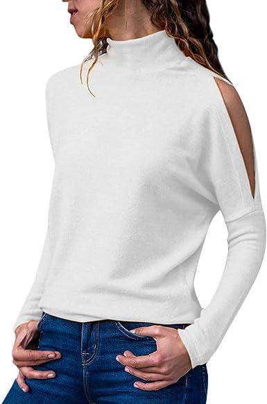Vectry Otoño Blusas para Mujer Otoño 2019 Camisa Mujer Blanca Blusas para Mujer Camisas Y Camisetas Mujer De Fiesta Blusa Mujer Sin Mangas Camisetas De MujerCamisa Blanca: Amazon.es: Ropa y accesorios