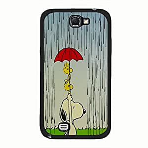 Beautiful Snoopy Phone Case Cover For Samsung Galaxy Note 2 n7100 Snoopy Cute