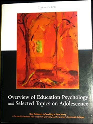 Overview of education psychology and selected topics on adolescence overview of education psychology and selected topics on adolescence new pathways to teaching in new anita woolfolk 9780536207883 amazon books fandeluxe Choice Image