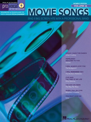 Download Movie Songs: Pro Vocal Women's Edition Volume 26 ebook