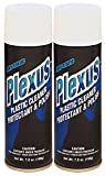 Plexus 20207-2PK Plastic Cleaner and Polish Aerosol, 7 fl. oz., 2 Pack