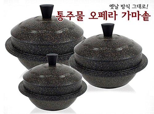 Kitchen art tongue Korean traditional opera Cauldron pot (7.8''(20cm /6-7 people))