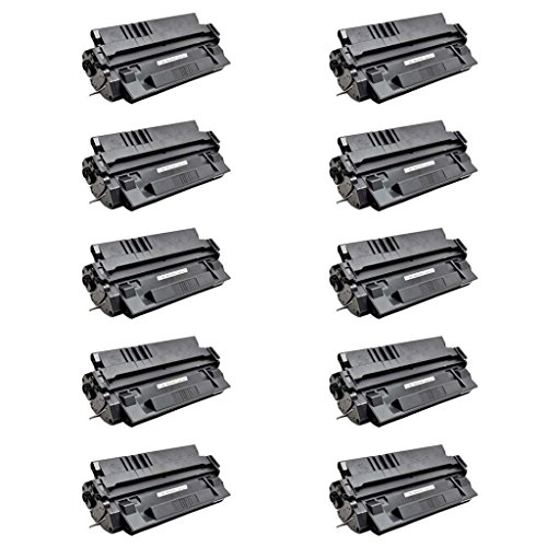 NineLeaf 10 Pack Compatible Laser Toner Cartridge Replacement For C4129X 29X LaserJet 5100dtn 5100tn Series Printer - 10000 Pages Yield (10000 Page Series Yield)