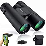 Best Binoculars For Concert Viewings - Binoculars for Adults Compact,12x42 HD Roof Prism Waterproof Review