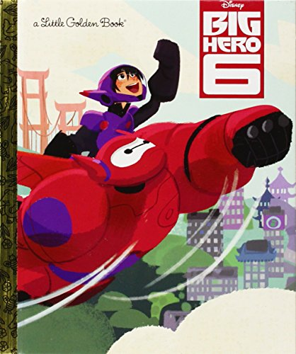 Price comparison product image Big Hero 6 (Disney Big Hero 6) (Little Golden Book)