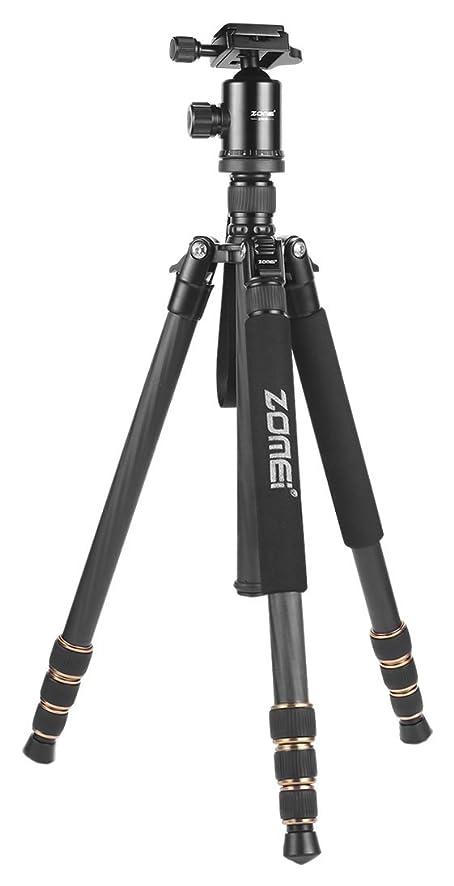 ZOMEi Z668C Lightweight Travel Carbon Fiber Tripod FOR All Canon Sony Nikon Samsung Panasonic Olympus Kodak Fuji DSLR Cameras And Camcorders