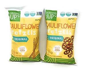 From the Ground Up Pretzel Bundle Two 4.5 Ounce Bags: One Bag Original Twists One Bag Original Sticks