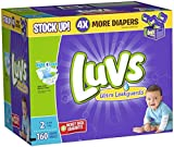 Health & Personal Care : Luvs Ultra Leakguards Diapers - Size 2 - 160 ct by Luvs