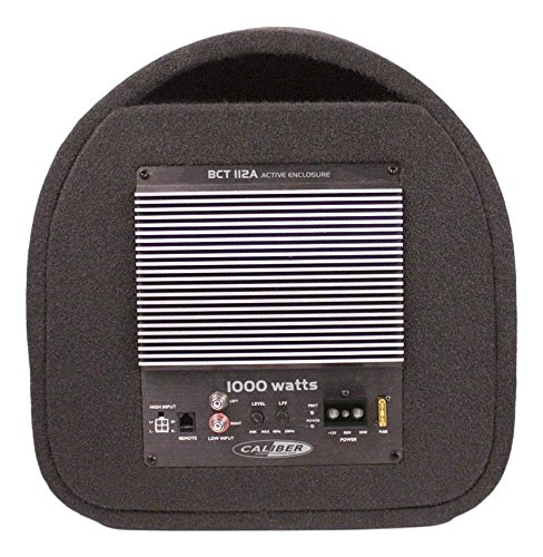 Caliber BCT112A - Subwoofer (200W, 50-250 Hz, 1000W, Negro, 37 cm, 56 cm)