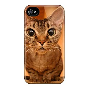 Durable Defender Case For Iphone 4/4s Tpu Cover(devon Rex)