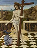 'Giovanni Bellini The Blood Of The Redeemer ' Oil Painting, 10 X 13 Inch / ...