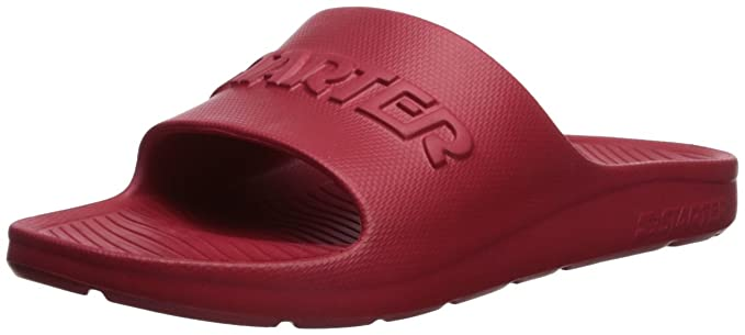 f151ec01470ed Starter Men's Performance Slide Sandal, Amazon Exclusive, Team Red, 7  Standard US