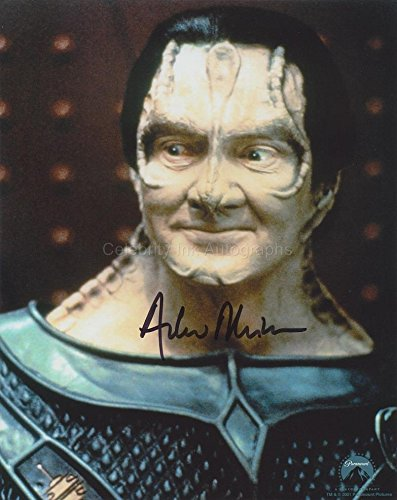 ANDREW ROBINSON as Garak - Star Trek: Deep Space Nine GENUINE AUTOGRAPH