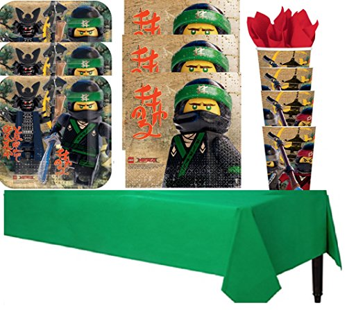 Lego Ninjago Party Pack - 16 Guests by Unknown