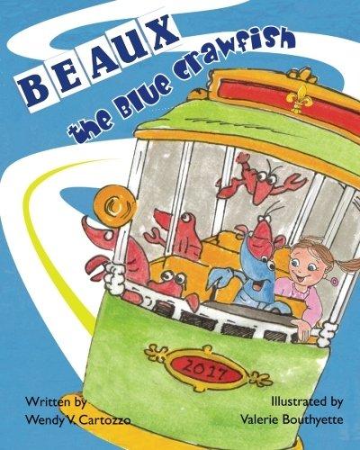 Beaux the Blue Crawfish
