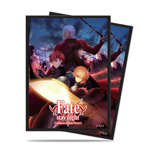 Ultra Pro Official Fate/stay night Unlimited Blade Works Standard Deck Protector sleeves (Fate Stay Night Unlimited Blade Works Game)