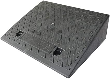 Al aire libre Rampas de umbral, Plástico Negro Rampas de servicio multifunción antideslizantes Carrito de jardín Rampas de bordillo/Altura: 15/19 CM Rampas de acera (Size : 50 * 38 * 15CM): Amazon.es: Coche y moto