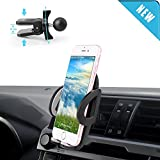 Car Mount, BUDGET & GOOD Car Air Vent Phone Mount Holder Cradle with Quick Release Button Design for iPhone 7 6 6s 6 5 5s 4 and Other Smartphones(Updated Version)