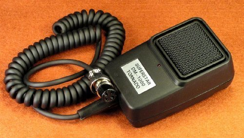 [해외]파워 토네이도 에코 마이크 CB 햄 라디오 4 핀 코브라 Uniden - Workman DM1000/POWER   Tornado ECHO Mic for CB   Ham Radio 4 pin Cobra   Uniden - Workman DM1000